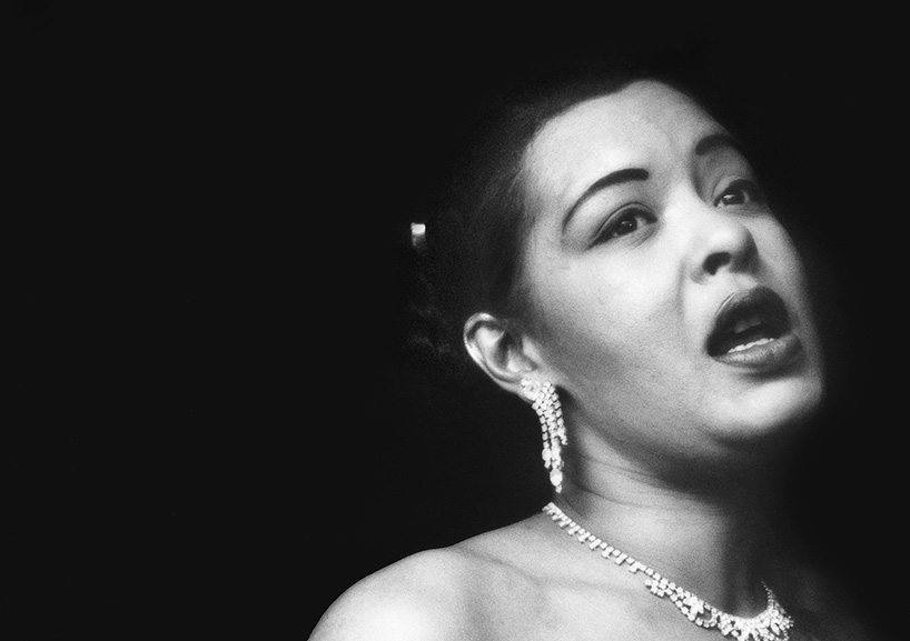 Billie Holiday en 1952.