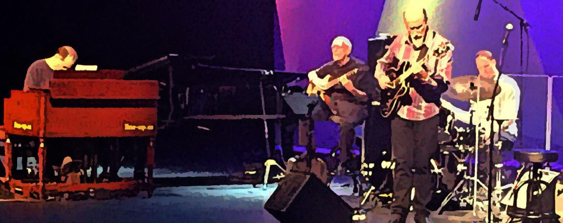 John Scofield, Steve Swallow, Bill Stewart y Larry Goldongs, en Bilbao