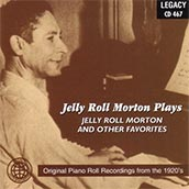 Jelly Roll Morton Plays