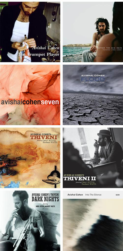 Discografía de Avishai Cohen