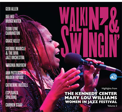 La mujer en el jazz - disco del Mary Lou Williams Women in Jazz Festival