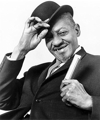 "Aleck ""Rice Miller"" Ford, conocido por Sonny Boy Williamson II."