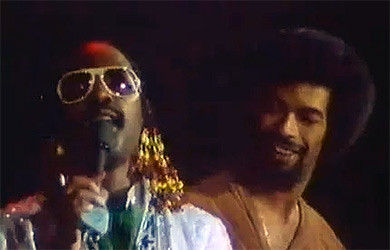 Stevie Wonder and Gill Scott-Heron