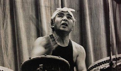 Daihachi Oguchi, baterista de jazz gran renovador de del tambor japonés tradicional.