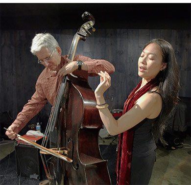 La mujer en el jazz: Jen Shyu And Mark Dresser